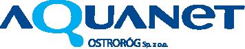 logotyp spółki Aquanet Ostroróg
